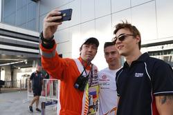 Артем Маркелов, RUSSIAN TIME и пилот GP3 Константин Терещенко, Campos Racing
