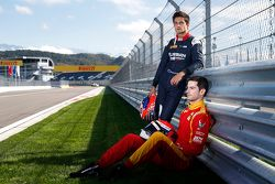 Mitch Evans, RUSSIAN TIME and Alexander Rossi, Racing Engineering