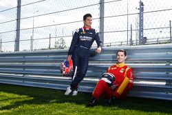 Mitch Evans, RUSSIAN TIME e Alexander Rossi, Racing Engineering