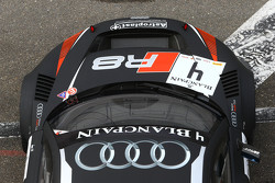 #4 Belçika Audi Club WRT Takımı  Audi R8 LMS Ultra: James Nash, Frank Stippler