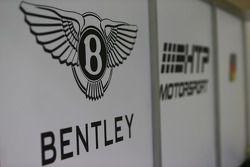 Bentley Team HTP signage