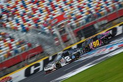 Brian Scott, Richard Childress Racing Chevrolet and Mario Gosselin, King Autosport Chevrolet