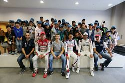 Drivers with young fans