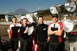 Michael Christensen, Patrick Pilet, Frederic Makowiecki, Richard Lietz, Porsche Team Manthey