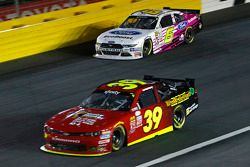 Darrell Wallace Jr., Roush Fenway Racing Ford and Ryan Sieg, RSS Racing Chevrolet