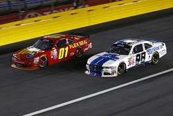 Landon Cassill, JD Motorsports Chevrolet, and Ryan Truex, Biagi-DenBeste Racing Ford