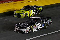 Brian Scott, Richard Childress Racing Chevrolet and Cale Conley, TriStar Motorsports Toyota