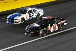 Ryan Truex, Biagi-DenBeste Racing Ford and B.J. McLeod