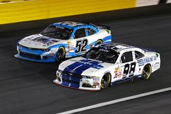 Joey Gase, Jimmy Means Racing Chevrolet and Ryan Truex, Biagi-DenBeste Racing Ford