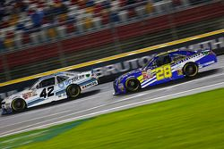 Brennan Poole, HScott Motorsports with Chip Ganassi and J.J. Yeley
