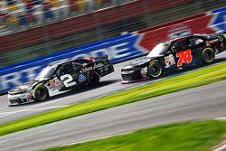 Brian Scott, Richard Childress Racing Chevrolet and Mike Harmon