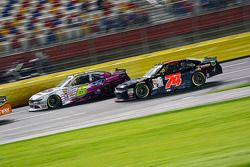 Darrell Wallace Jr., Roush Fenway Racing Ford and Mike Harmon