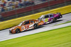 Daniel Suarez, Joe Gibbs Racing Toyota and Darrell Wallace Jr., Roush Fenway Racing Ford