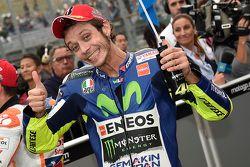 Qualifications : le deuxième, Valentino Rossi, Yamaha Factory Racing