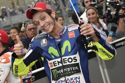 Qualifying: 2. Valentino Rossi, Yamaha Factory Racing