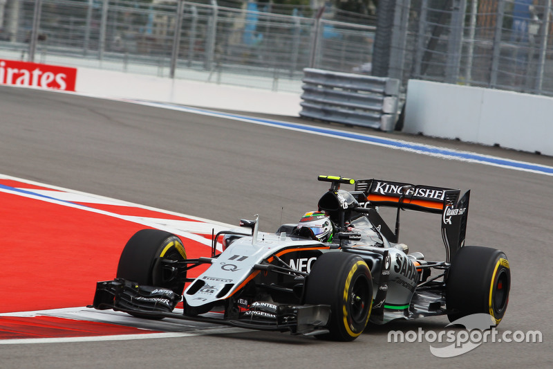 Sergio Perez, Force India VJM08