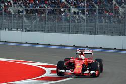 Sebastian Vettel, Ferrari, SF15-T