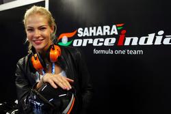 Darya Klishina, Long Jump Athlete разом з Sahara Force India F1 Team