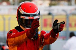 Race winner Alexander Rossi, Racing Engineering