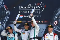 Podium: winners Maximilian Buhk, Vincent Abril