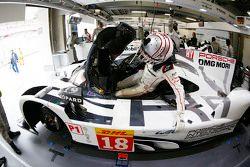 Ромен Дюма, Porsche Team
