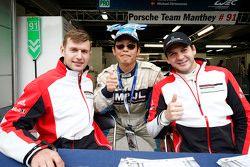 Микаэль Кристенсен и Рихард Лиц, Porsche Team Manthey