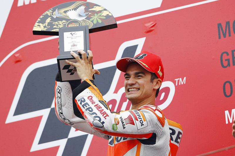 Plus grand nombre de victoires MotoGP : 3