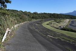 La pendenza del vecchio Fuji speedway
