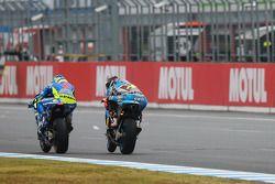 Aleix Espargaro, Team Suzuki MotoGP and Scott Redding, Marc VDS Racing Team Honda