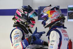 Sébastien Buemi , dan Stéphane Sarrazin, Toyota Racing