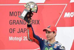 Tercer lugar Jorge Lorenzo, Yamaha Factory Racing