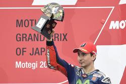 Jorge Lorenzo, Yamaha Factory Racing, troisième de la course