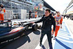 ART festeggia la vittoria del Campionato GP2 con Stoffel Vandoorne, ART Grand Prix