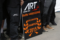 GP2-Champion 2015: Stoffel Vandoorne, ART Grand Prix
