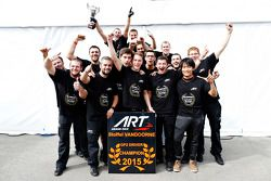 Il campione 2015 Stoffel Vandoorne, ART Grand Prix