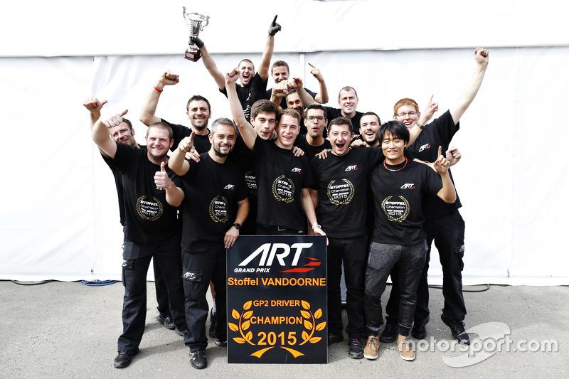 Stoffel Vandoorne Champion!