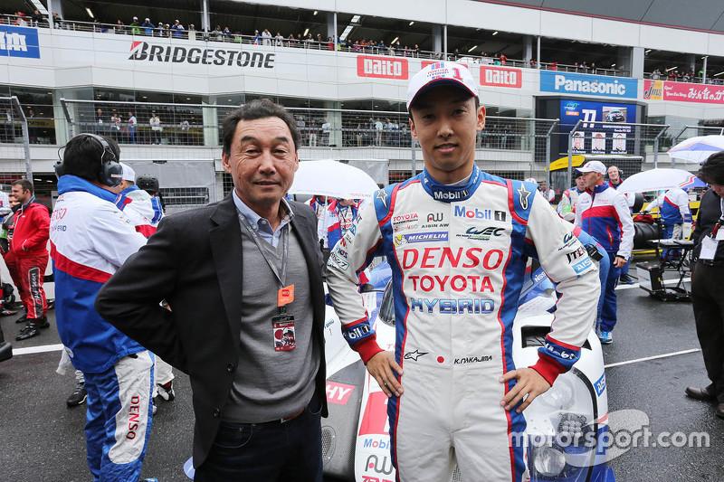 Satoru Nakajima e Kazuki Nakajima