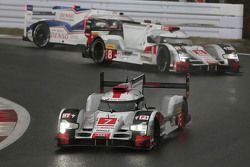 #7 Audi Sport Team Joest Audi R18 e-tron quattro: Марк Фесслер, Андре Лоттерер, Бенуа Трелюйе