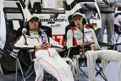 Марк Уэббер и Брендон Хартли, Porsche Team
