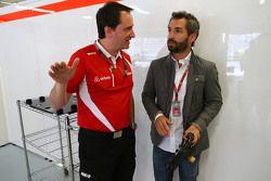 Gianluca Pisanello, Manor F1 Team ingenieur met Timo Glock,