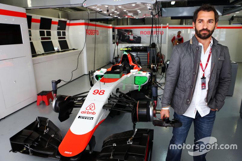 Тимо Глок, гость Manor F1 Team, Гран При России
