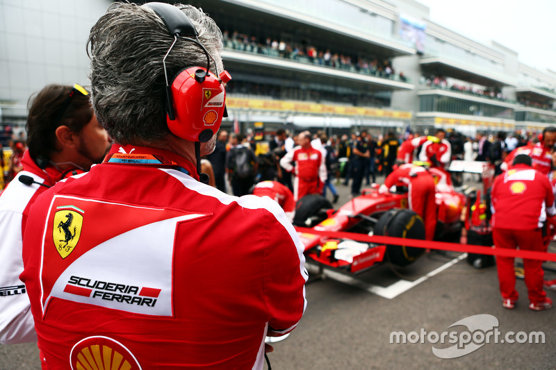 Мауріціо Аррівабене, Керівник Scuderia Ferrari на стартовій решітці