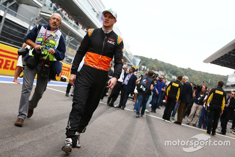 Ніко Хюлкенберг, Sahara Force India F1 на стартовій решітці