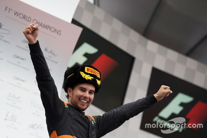 Tercero en el GP de Rusia 2015