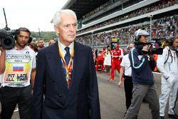 Le Président de Pirelli, Marco Tronchetti Provera