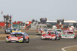 Guillermo Ortelli, JP Racing Chevrolet, Matias Rossi, Donto Racing Chevrolet, Juan Pablo Gianini, JPG Racing Ford