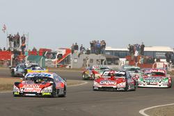 Guillermo Ortelli, JP Racing Chevrolet, Matias Rossi, Donto Racing Chevrolet, Juan Pablo Gianini, JP