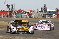 Leonel Pernia, Las Toscas Racing Chevrolet, Camilo Echevarria, Coiro Dole Racing Torino