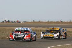 Jose Manuel Urcera, JP Racing Torino, Leonel Pernia, Las Toscas Racing Chevrolet