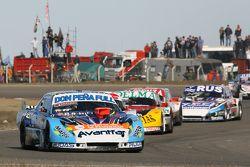 Martin Ponte, Nero53 Racing Dodge, Prospero Bonelli, Bonelli Competicion Ford, Gabriel Ponce de Leon, Ponce de Leon Competicion Ford
